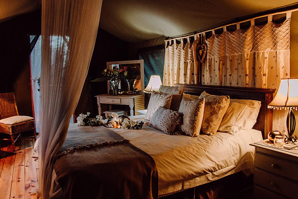 Honeymoon Tents at Chandelier Game Lodge